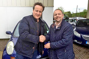 UK Prime Minister David Cameron Buys Used Nissan For $2,000, Drives It Home Himself