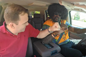 How The Hell Did These Lyft Passengers Not Know Shaq Was Their Driver?