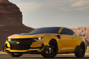 """The New """"Transformers"""" Bumblebee Camaro Is Here And It Looks Sick"""