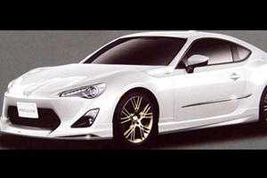 Leaked: Toyota FT-86 from a Brochure in Japan?