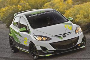 SEMA 2011: Mazda2 Turbo and 3dCarbon Concepts