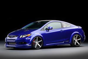 SEMA 2011: Seven 2012 Honda Civic Si Coupes and Sedans Unveiled