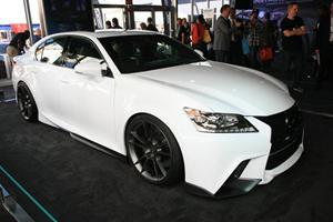 SEMA 2011: Five Axis Unleashes the Lexus GS350 F-Sport