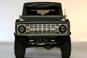 SEMA 2011: Icon Ford Bronco Debuts, is Suitable for Police Chases
