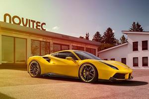Novitec Rosso Turns The Boost Up On The Ferrari 488 GTB
