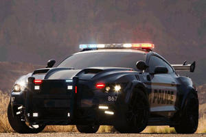 The New Transformers Mustang Cop Car Looks Even Better Than Bumblebee