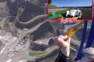 Skydiver Racing A Radical At Spa Is As Crazy As It Sounds