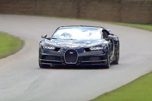 The 1,500 HP-Bugatti Chiron Put Hypercars To Shame At The Goodwood Festival Of Speed