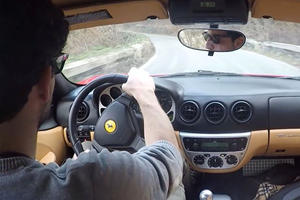 Driving A Manual Ferrari Through The Hills Is Sure To Make You Opt For A Manual Next Time