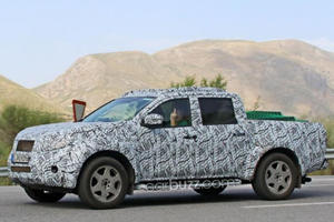 We Spied Mercedes' New Pickup Truck And Its Driver Gave Us The Finger