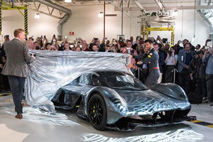 We Got Up Close And Personal With The Aston Martin AM-RB 001