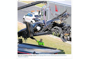 A Koenigsegg One:1 Has Been Mauled In What May Be The Most Expensive Nurburgring Crash Ever
