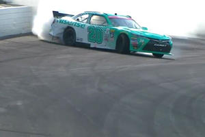 Blowout At 200 MPH Leads To A Badass Drift