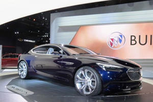 The Buick Avista Concept Is So Gorgeous It Made The Camaro Team Jealous?
