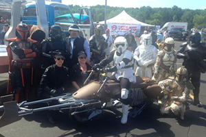 This Working Star Wars Speeder Bike Is The Coolest Motorcycle Ever Made