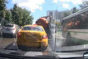 Watching A Sewage Truck Explode In Traffic Will Scar You For Life
