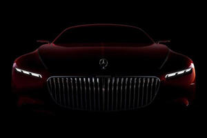 Mercedes Just Showed The Face Of Its Ridiculously Long Maybach Coupe