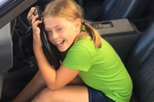 Watching This Girl Freak Out Over A DeLorean Proves Kids Don't Hate Cars