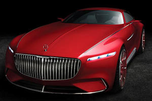 We Finally Have All The Details On The 750-HP Vision Mercedes-Maybach 6