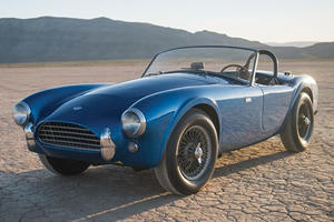 Carroll Shelby's First Cobra Just Sold For How Much At Auction?