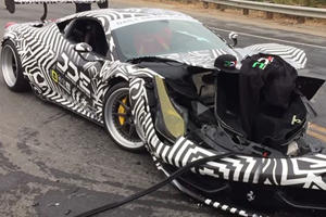 This Faceless Liberty Walk 458 Is Monterey Car Week's Biggest Casualty