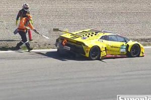Is Anyone Surprised That Lamborghini's GT3 Cars Also Catch Fire?