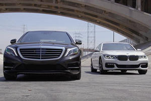 Battle Of The Luxury Limos: Mercedes S-Class And BMW 7 Series Duke It Out