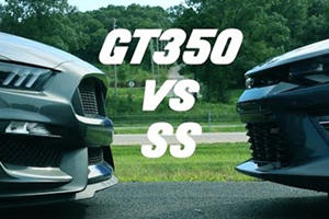Turns Out A Bone Stock Camaro SS Can Put The Hurt On A Mustang GT350