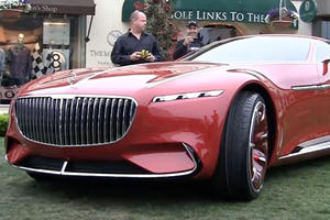Here's What It's like To Drive The Vision Mercedes-Maybach 6 Concept