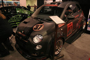 SEMA 2011: A Fiat 500 for the Racetrack by Road Race Motorsports