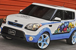 Michelle Wie's Hole-in-One Kia Soul Shows Up at SEMA 2011