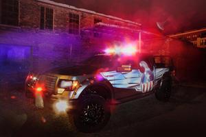 The 2011 Ford F-150 DeeZee American Guardian Screams America