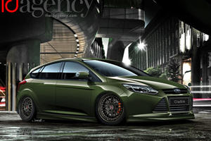 Ford Focus Makes A Strong Showing At SEMA