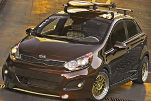 Kia Rio Antenna Concept In All Its SEMA Glory
