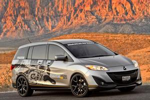 SEMA 2011: Mazda5 Laguna Seca Support Vehicle