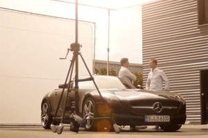 Video: Mercedes SLS AMG Photo Shoot Shows Cinematic Quality