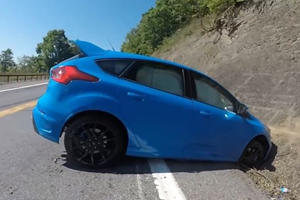 Focus RS Driver Shows Us How Not To Use Drift Mode By Slamming Into Wall