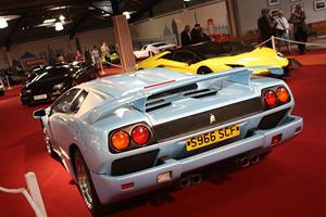 Supercar Classics Showcased At Goodwood's Earls Court Exhibit