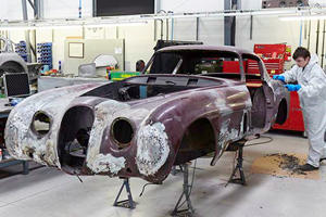 One Of The Coolest Ever Jaguars Is Being Restored To Its Former Glory