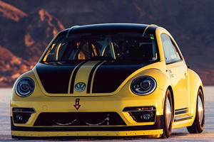 How Fast Can A Volkswagen Beetle LSR Go?