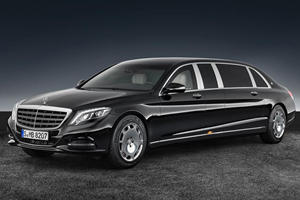 Diplomats And VIPs Can Roll In Style With TheNew Mercedes-Maybach S 600 Pullman Guard