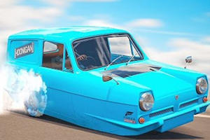 Recreating Gymkhana With A Reliant Robin Goes Just As You'd Expect It To
