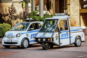The NYPD Will Drive Smart Cars Instead Of Three-Wheel Motorbikes