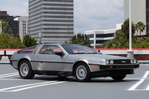This Is The Only Speed To Be Caught At In A Delorean