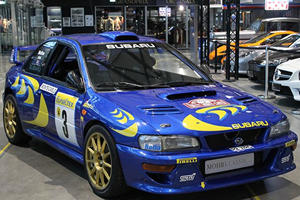 You Can Now Buy One Of Colin McRae's Subaru Impreza Rally Cars