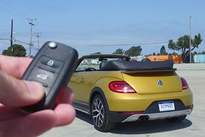 The 2017 Volkswagen Beetle Convertible Dune Is Still A Hairdresser's Car