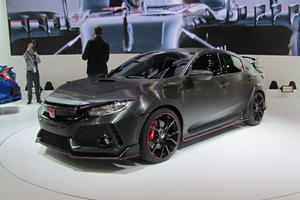 The US-Bound Honda Civic Type R Prototype Has Its Paris Debut