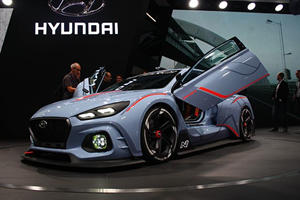 The Hyundai RN30 Concept Is An Absolute Hot Hatch Rally Monster