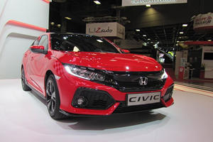 The New Honda Civic Hatchback Will Hold You Over Until The Type R