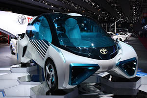 The Toyota FCV Plus is A Space-Age Mobile Generator